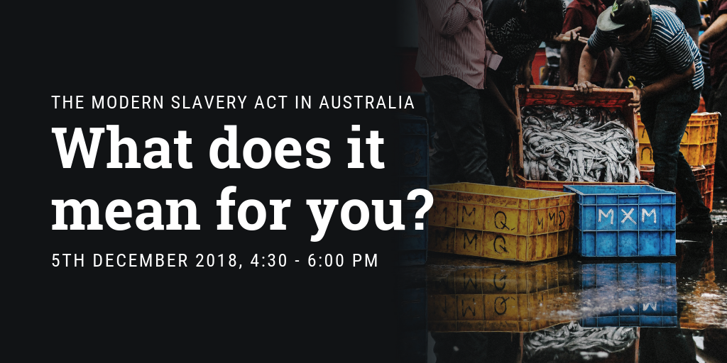 Modern Slavery Act - Twitter Post