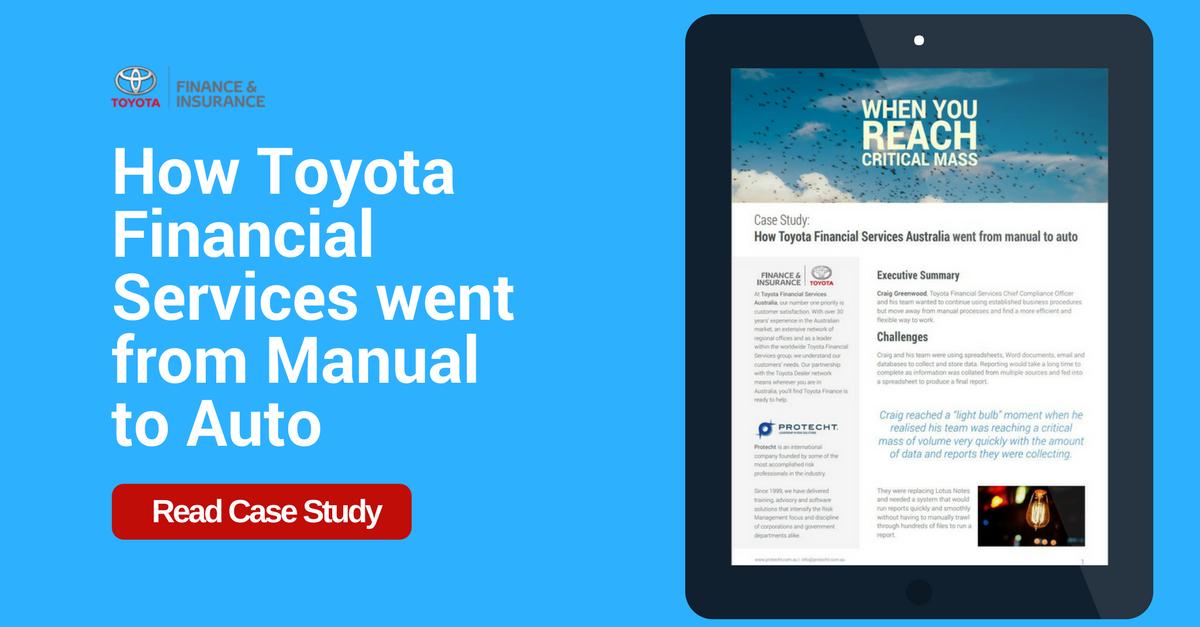 Case Study - Toyota